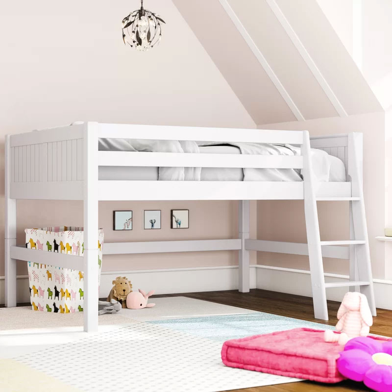 new arrival 89f81 d25e3 13 Low Loft Beds for Kids Rooms with Low Ceilings | 4BetterHome