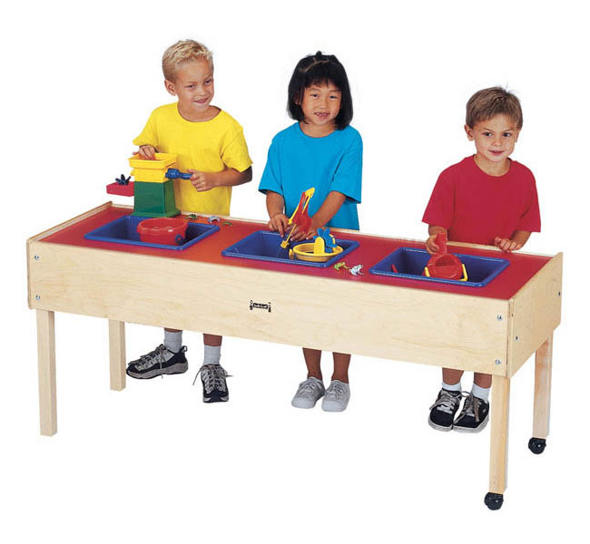 3 tub sand and water table
