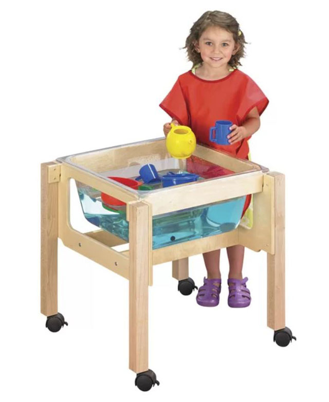 small sand and water table