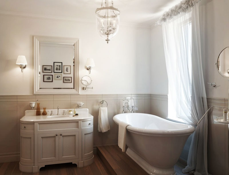 Classic Bathroom Design Ideas ~ 30 elegant and small classic bathroom design ideas