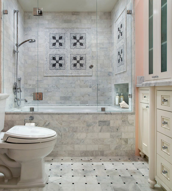 30 elegant and small classic bathroom design ideas for Small bathroom remodel photo gallery