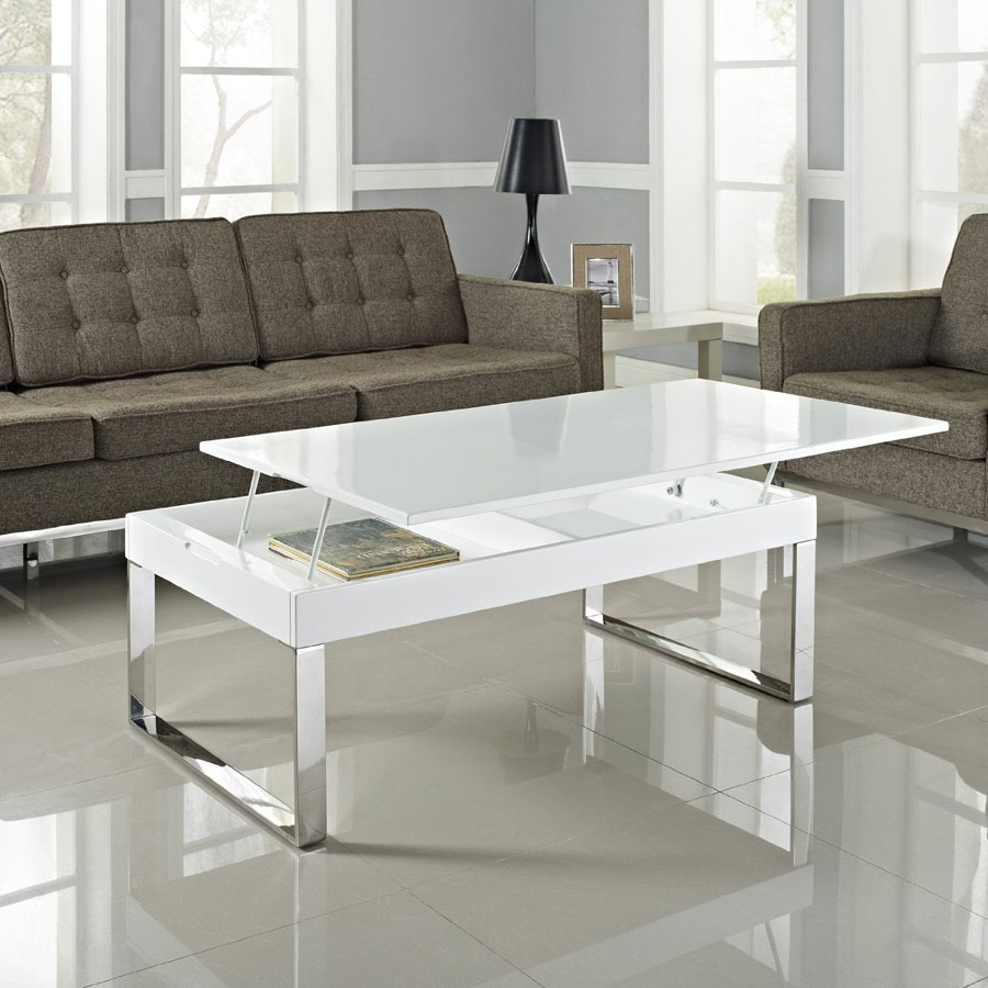 Smart Lift-Top Coffee Table Solutions In Modern And