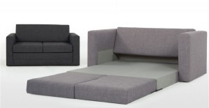 ... elvin convertible sofa bed for small spaces
