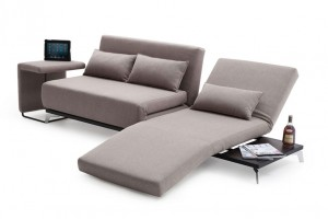 futon premium sofa bed JH033 in beige