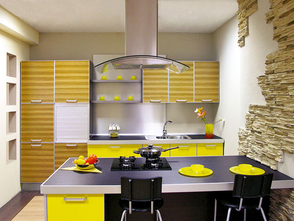 If the basic color is yellow, then yellow-green and yellow-orange. This  technique always works very well. how to choose kitchen ...