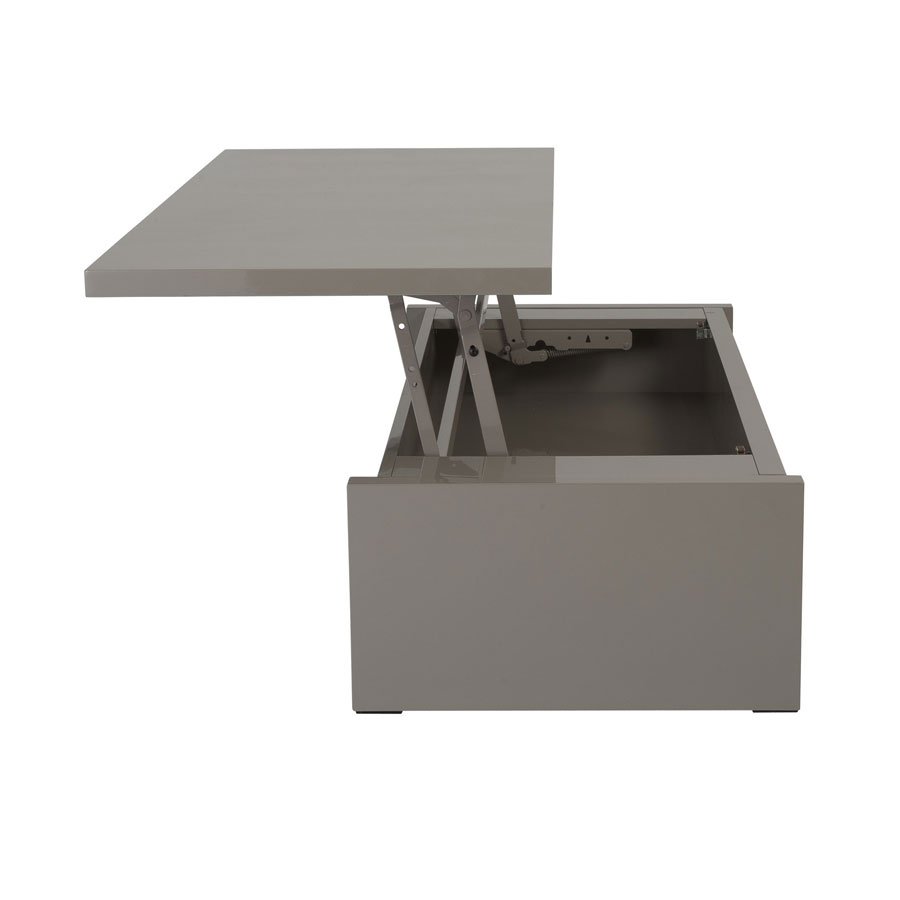 Great Modern Latte Coffee Table To Desk For Homes And Offices
