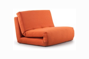 small polygon sleeper chair sofa ...  sc 1 st  4BetterHome & 16 Functional Small Sofa Beds Solutions for Small Spaces