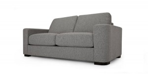 small contemporary sofa bed with sprung mattress